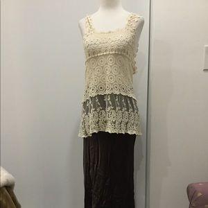 Odessa silk skirt